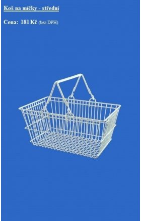 Foto - Middle self-service basket