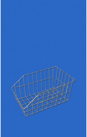 Foto - Wire bicycle basket Standard - stainless